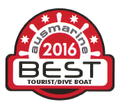 Ausmarine 2016 Best Tourist Dive Boat Award Logo