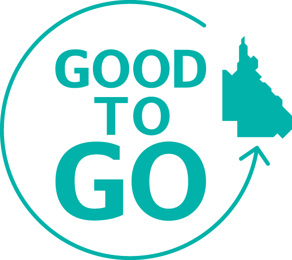 Good to Go QLD logo